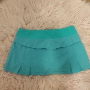 Lululemon tennis skirt size 8